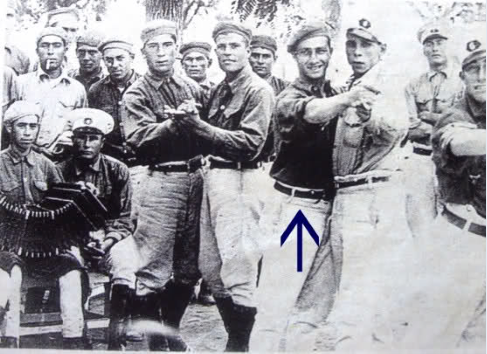 Racing Driver, Juan Fangio, dancing tango while on military service in Argentina, 1932