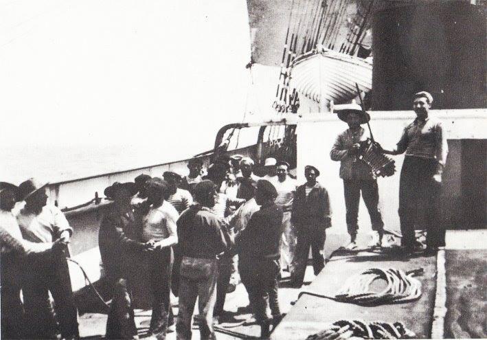 c1910 Dimanche à bord de Françoise-d'Amboise