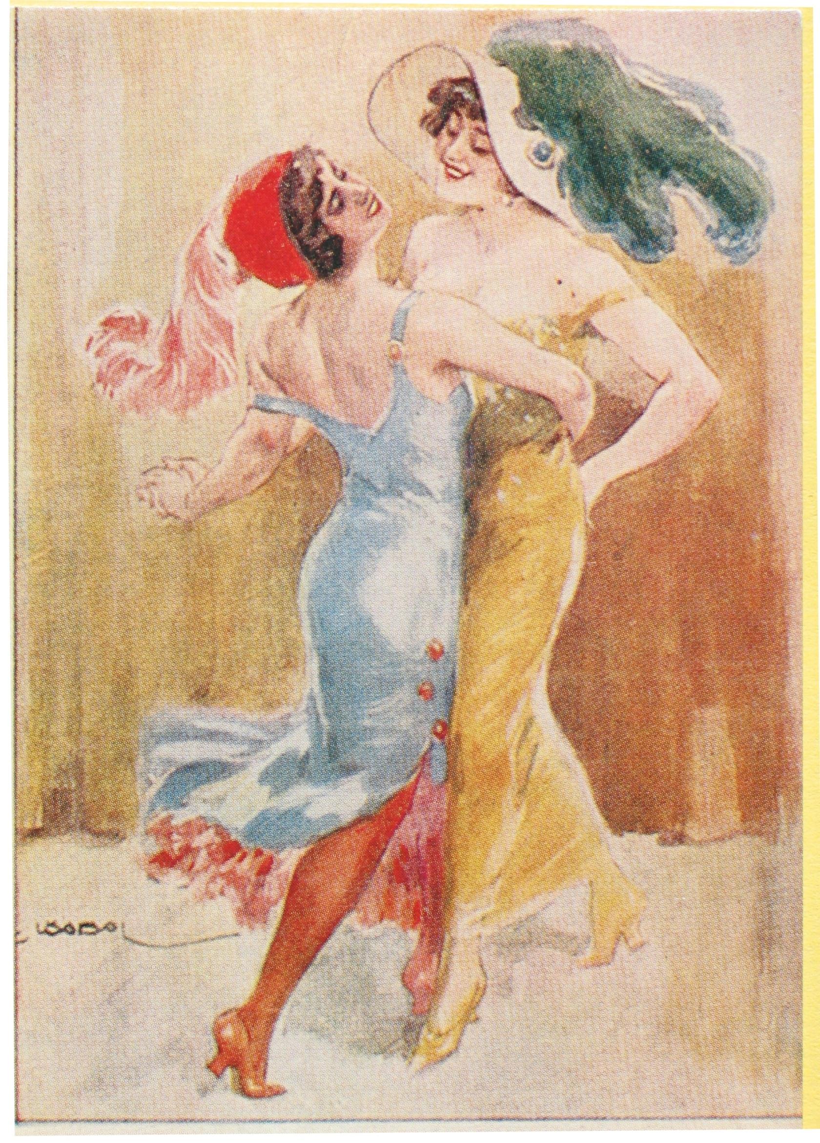 Tango Postcard 1920s (?)