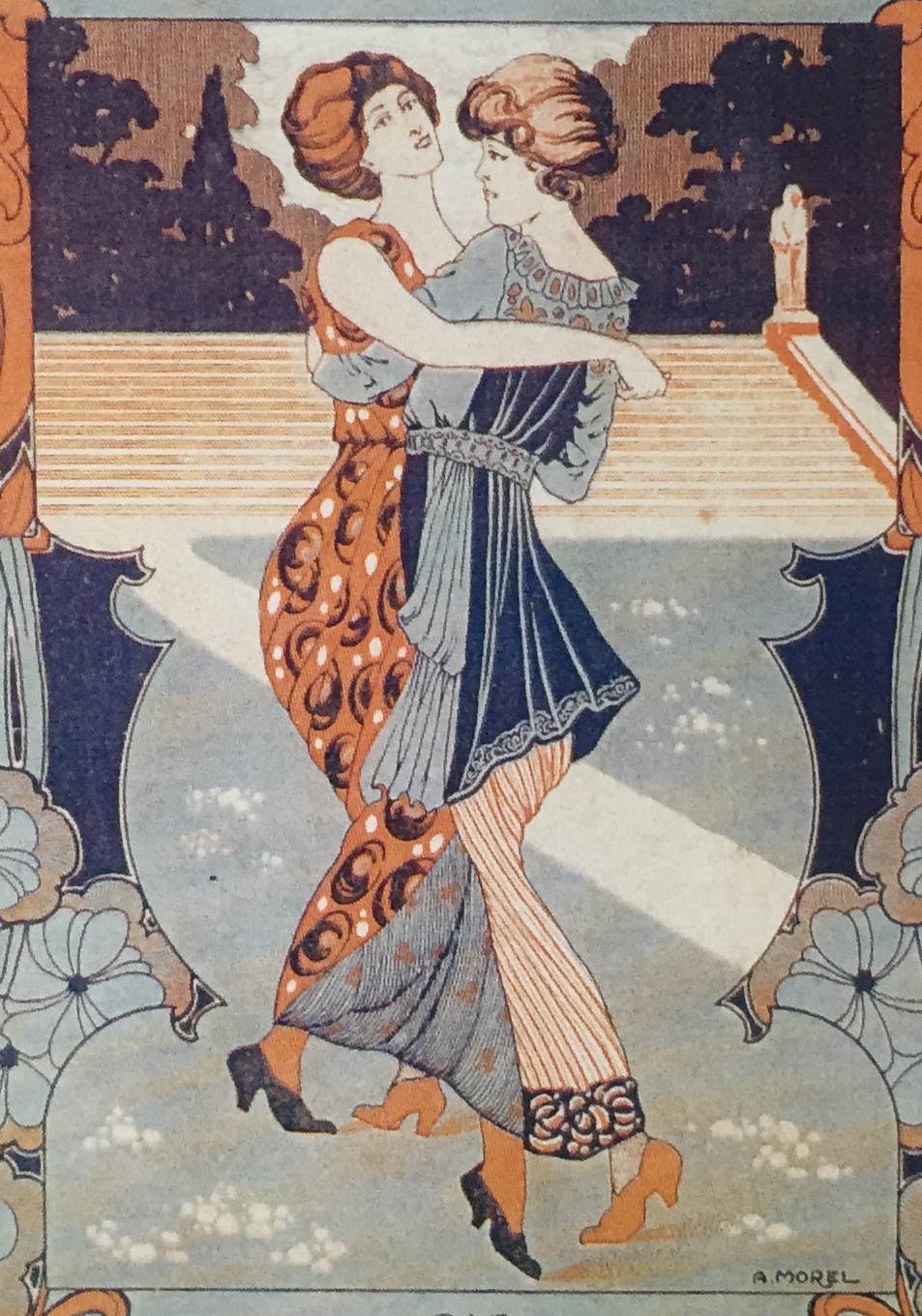Fashionable women on Villoldo sheet music, London and Paris, 1913-14