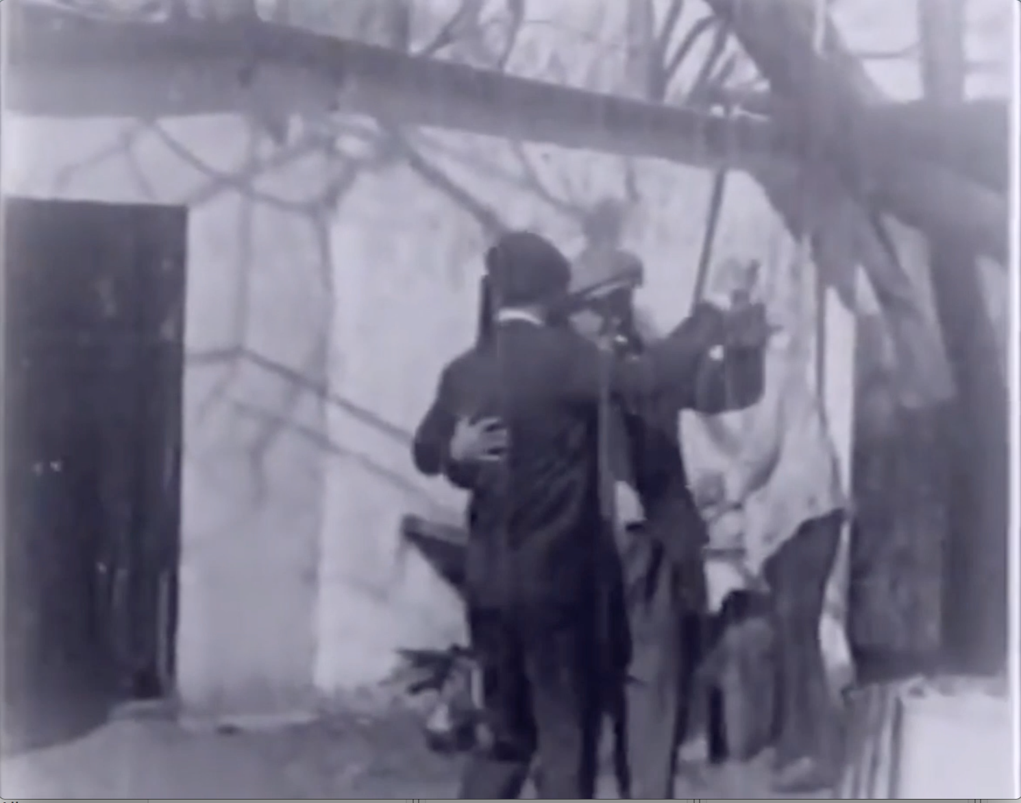 Film clip: Men Dancing Tango Together, Uruguay, 1928