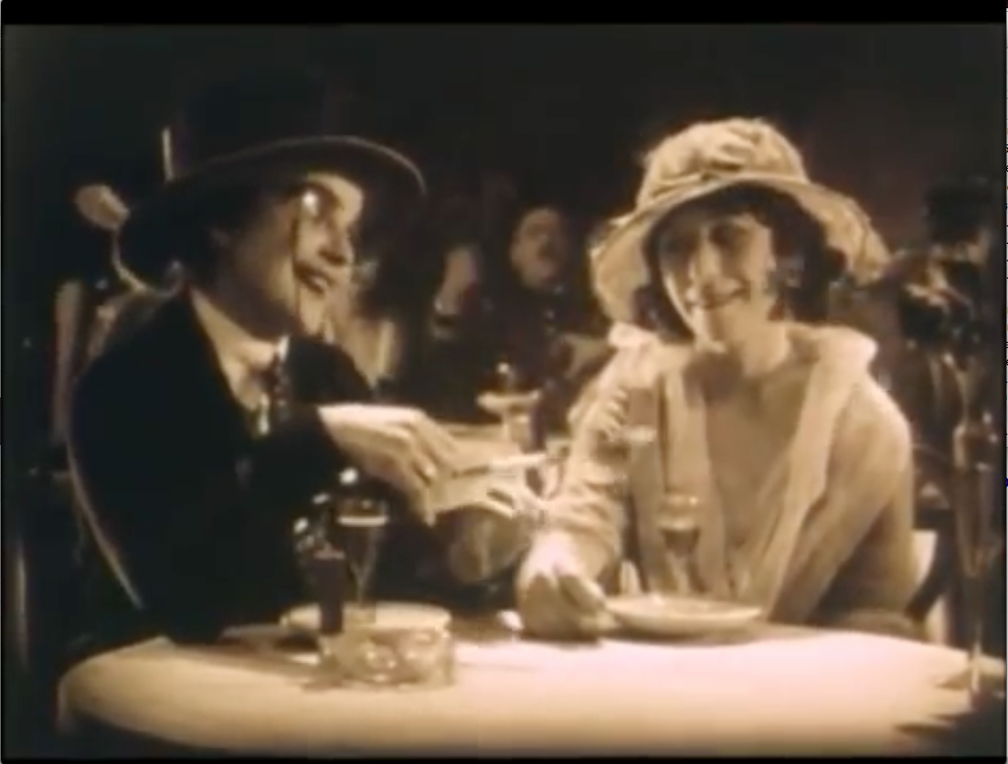 "Film: Lesbians at a Paris Tango Tea, c1913, as shown in ""The Four Horsemen of the Apocalypse"" 1921"