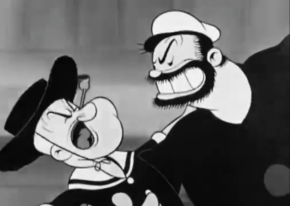 Film clip: [Intercambio] Apache Dance in Popeye the Sailor Morning, Noon and Night Club 1937