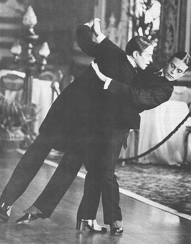 """Nureyev as Rudolph Valentino and Anthony Dowell as Nijinsky in Ken Russell's film, """"Valentino"""" 1977"""