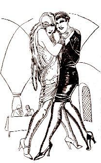 Del libro Las tanguistas Ilustraciones de Pico (pseudo) 1920s (?)