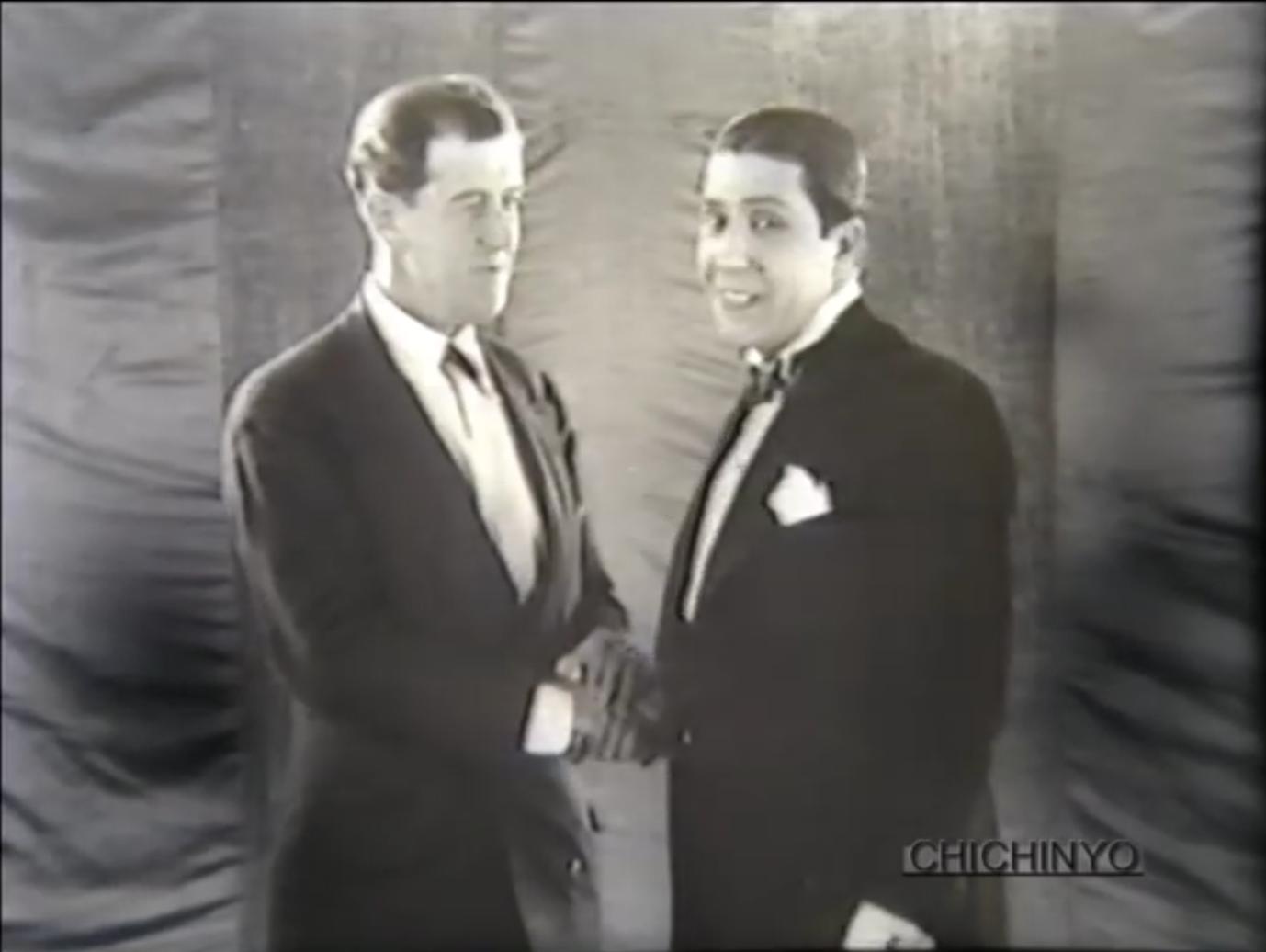 Film clip: Arturo de Navas and Carlos Gardel, 1930