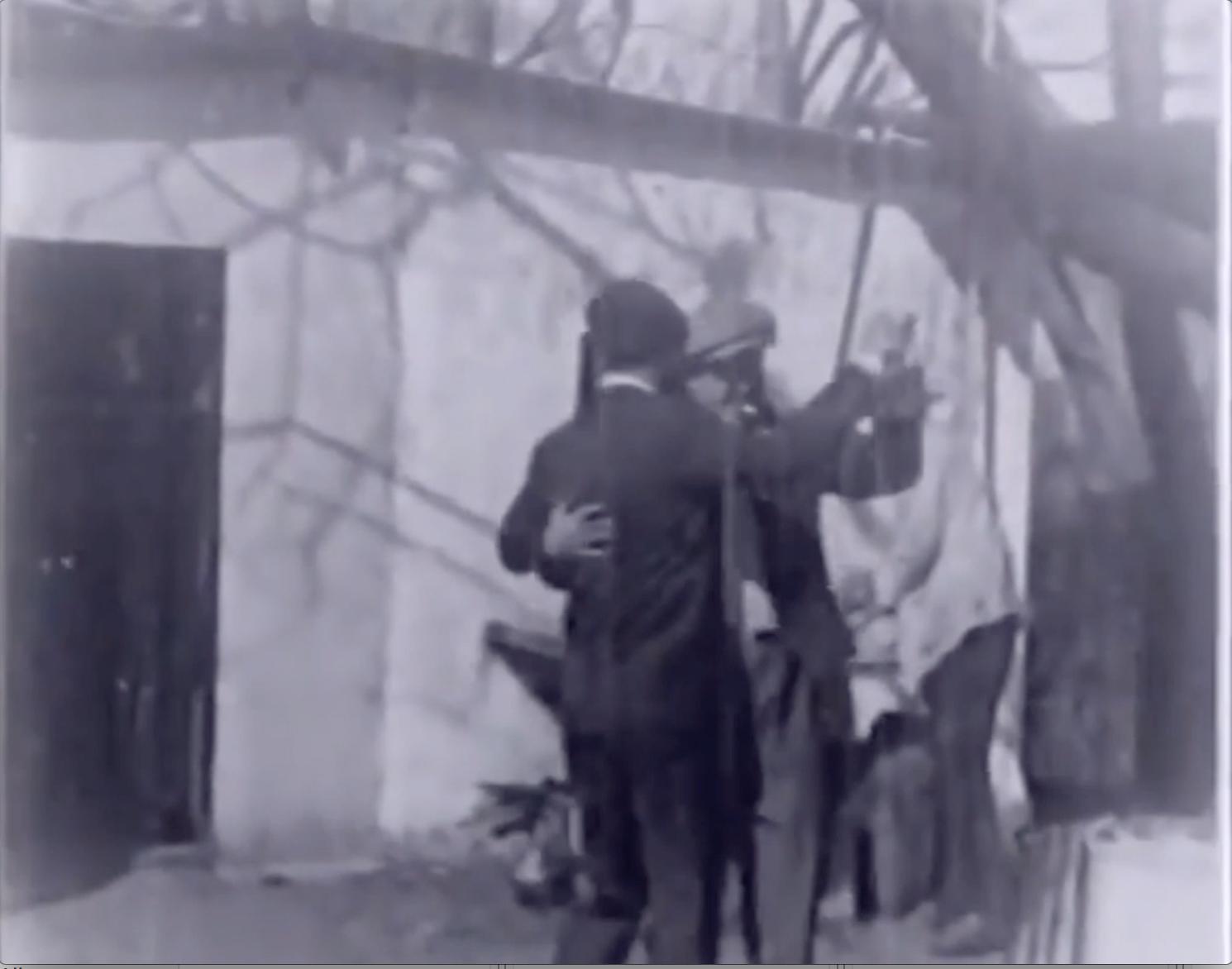 Film clip: Men Dancing Tango Together, Uruguay, 1928