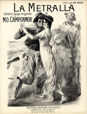 French Sheet Music, 1913 – A Woman Leading a Man?